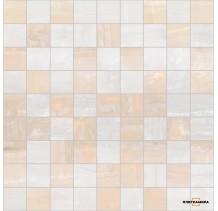 Diadema Мозаика бежевый+белый 30x30