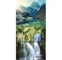 Waterfall Mountains P3D259 Панно из 3-х плиток 30х60