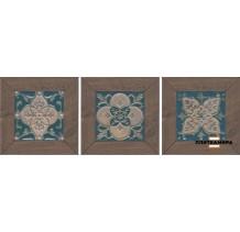 Меранти Вставка венге мозаичный ID60 13х13