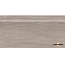 Слим Вуд Ступень коричневый обрезной SG226300R\GR 30х60