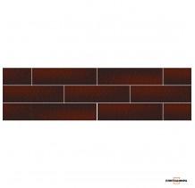 Cloud Brown Плитка фасадная гладкая 0,74x6,58x24,5