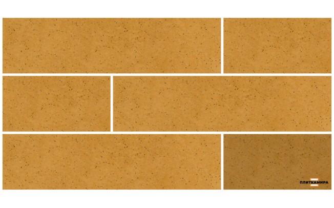Aquarius Beige Плитка фасадная 0,74x6,5x24,5