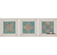 Меранти Вставка белый мозаичный ID57 13x13